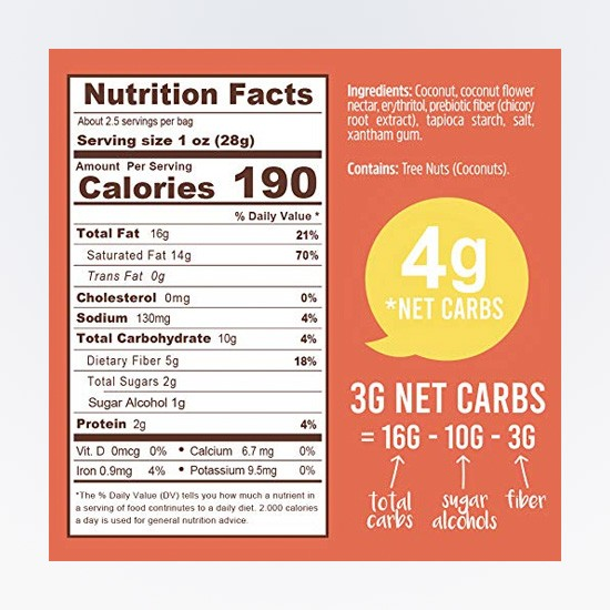 Buttery Coconut Cookies Keto Naturals NF